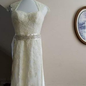 Wedding dress combination